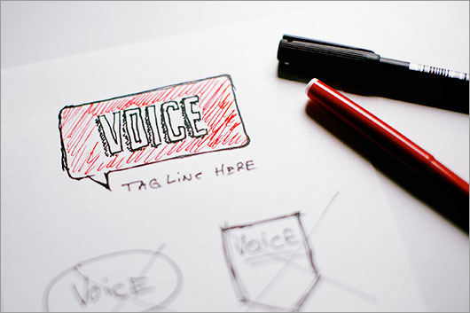VOICE Logo work-in-progress
