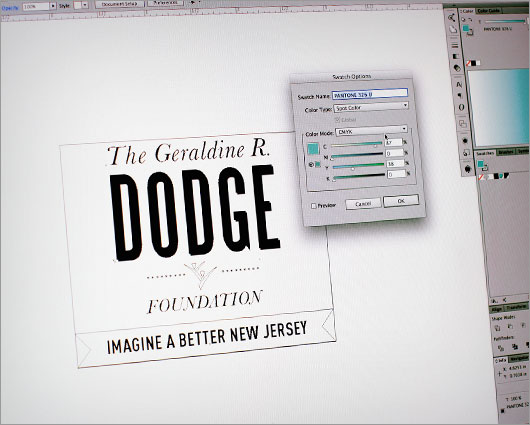 Dodge Logo Work-in-Progress