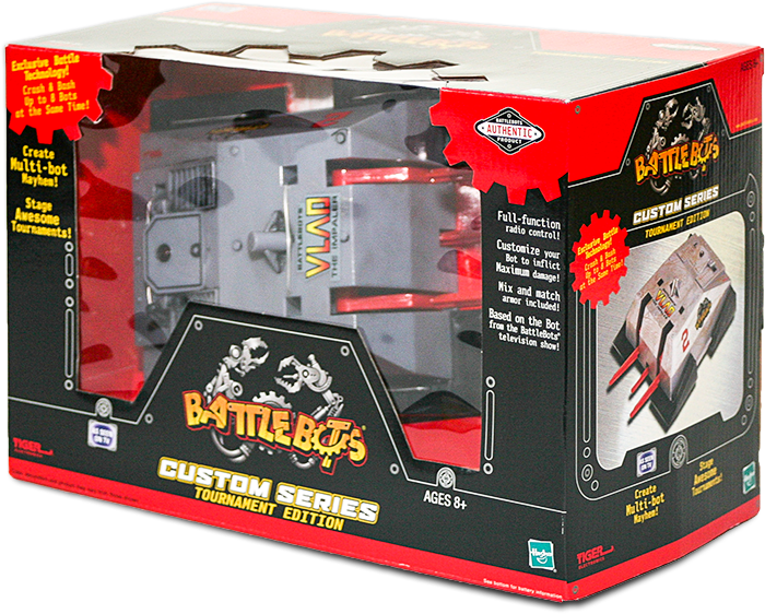 BattleBots Toy Packaging